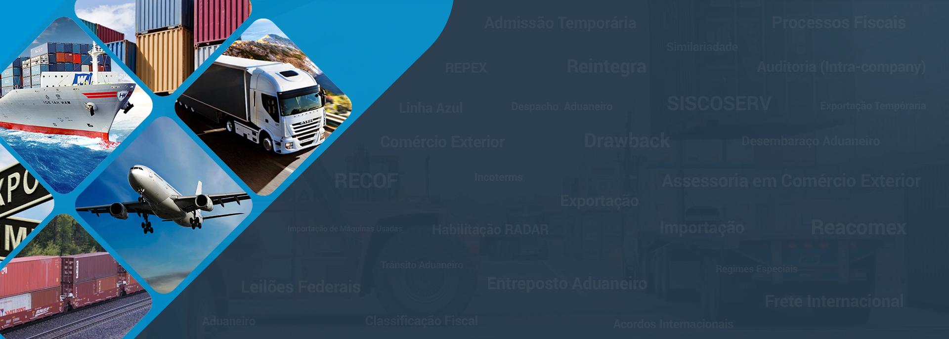 Banner Reacomex Assessoria Técnica Aduaneira