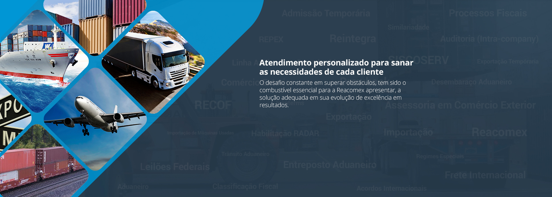 Atendimento personalizado de assessoria em comércio exterior